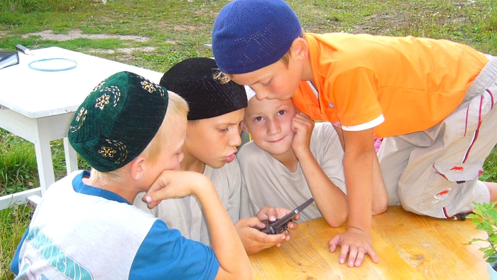 "All-Russian camp ""Muslim"" for boys"